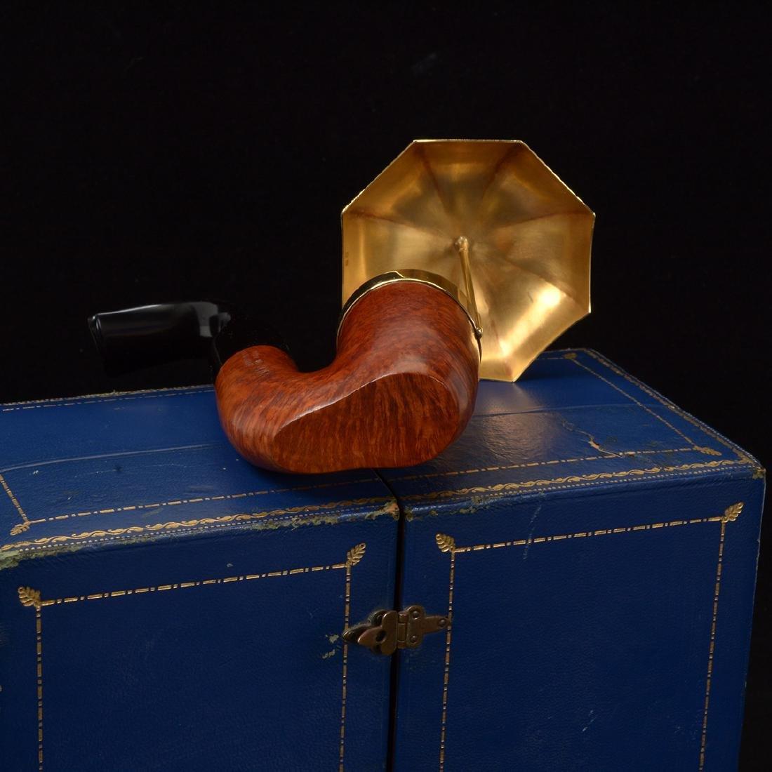 Dunhill Umbrella Pipe with Presentation Box - 7
