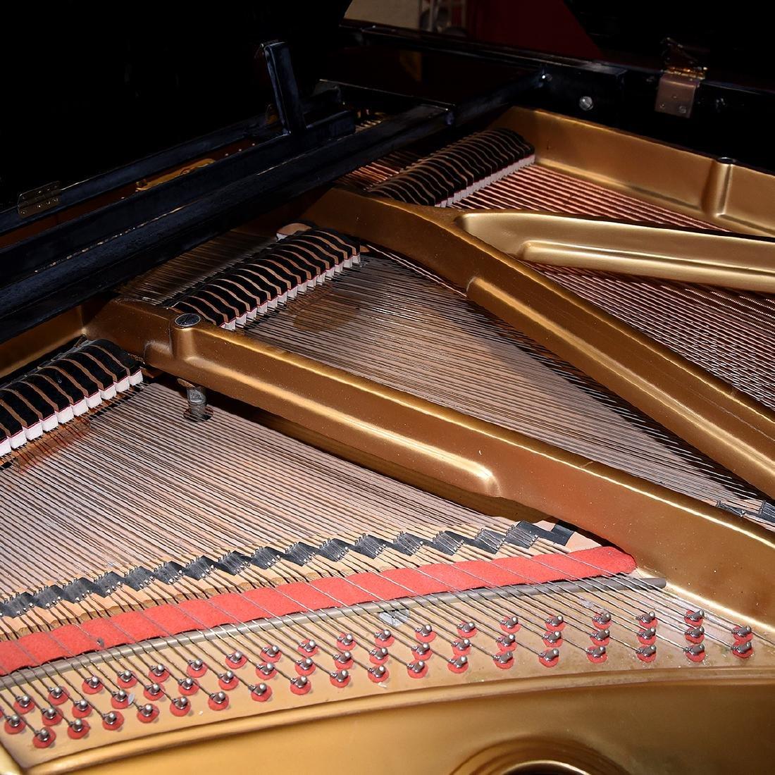 Samick Ebonized Grand Piano and Bench - 5