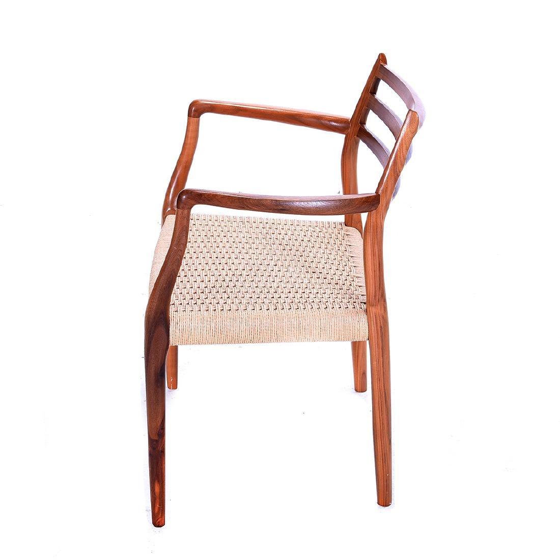 Moller Rush Seat Open Armchair - 3