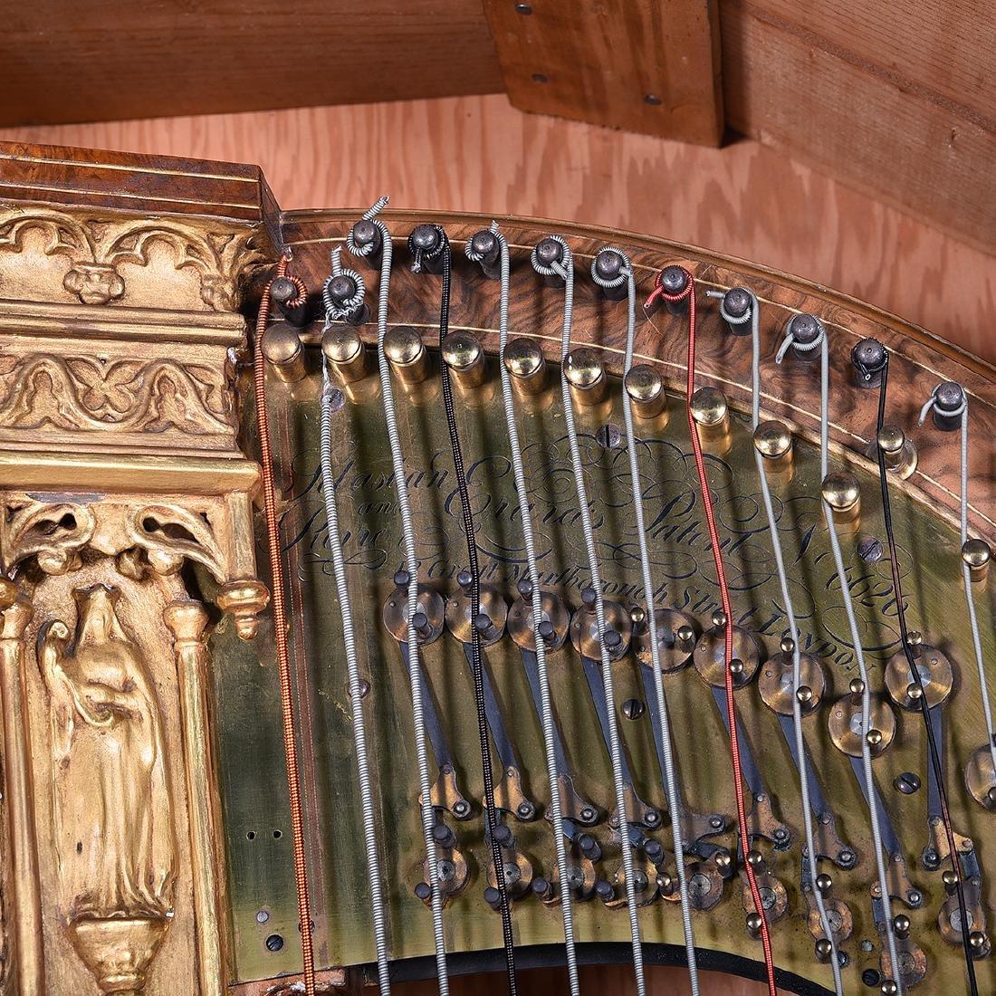 Erard Neo-Gothic Harp - 2