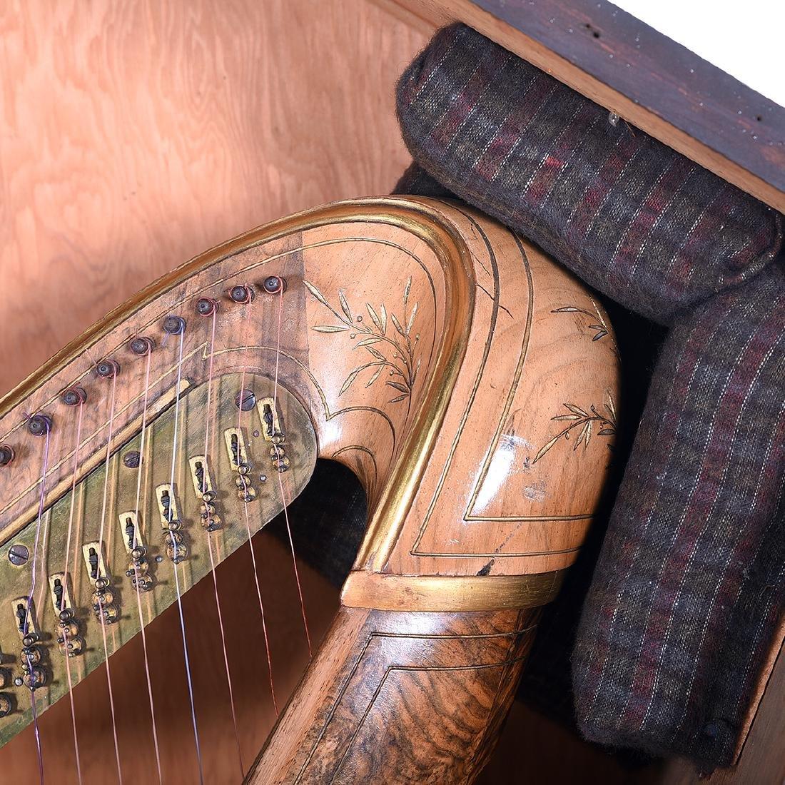 Erard Neo-Gothic Harp - 4