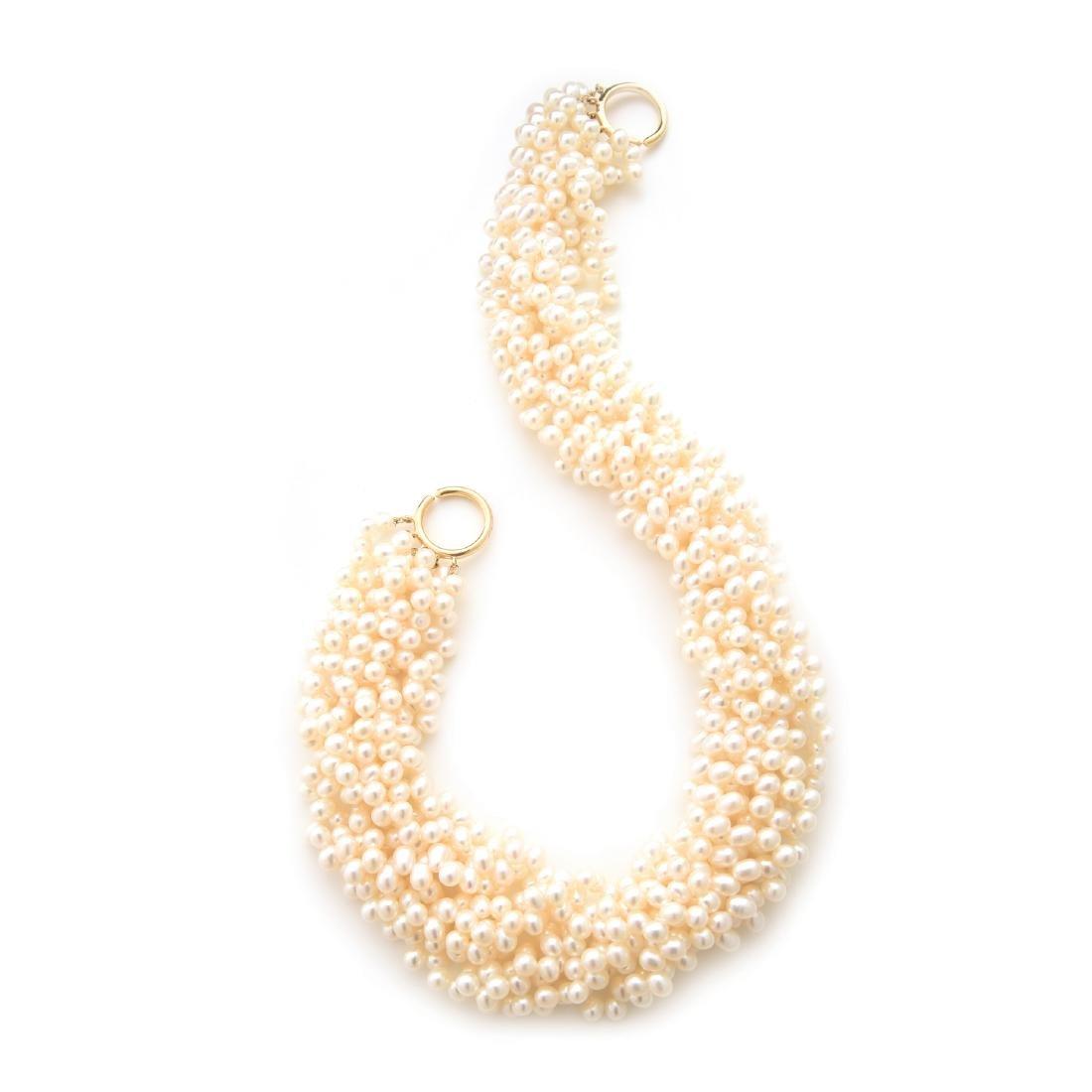 "Tiffany Paloma Picasso ""Torsade"" Cultured Pearl"