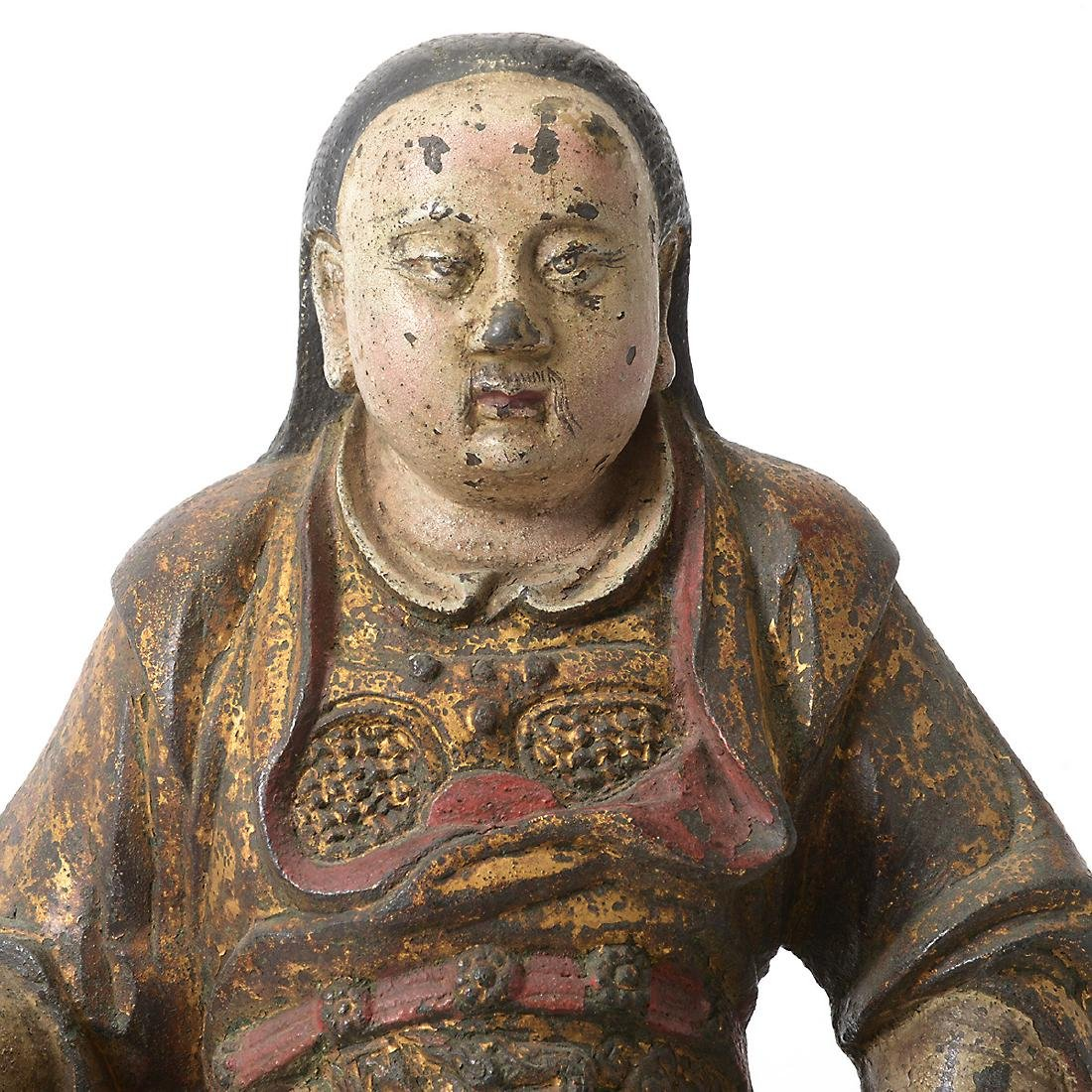 Cast Iron Figure of an Official, Ming Dynasty - 2