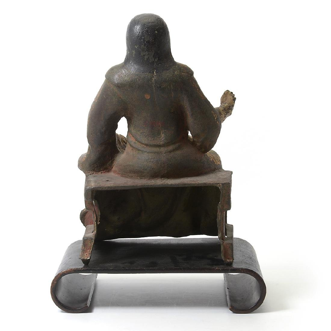 Cast Iron Figure of an Official, Ming Dynasty - 8