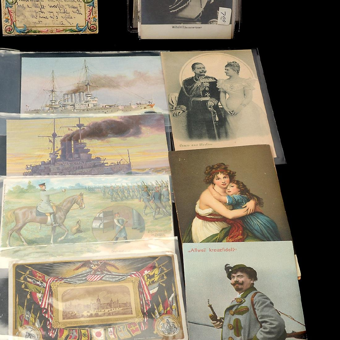 Collection of Vintage Postcards (approximately 300) - 4