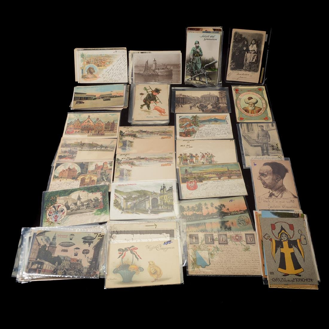 Collection of Vintage Postcards (approximately 300)