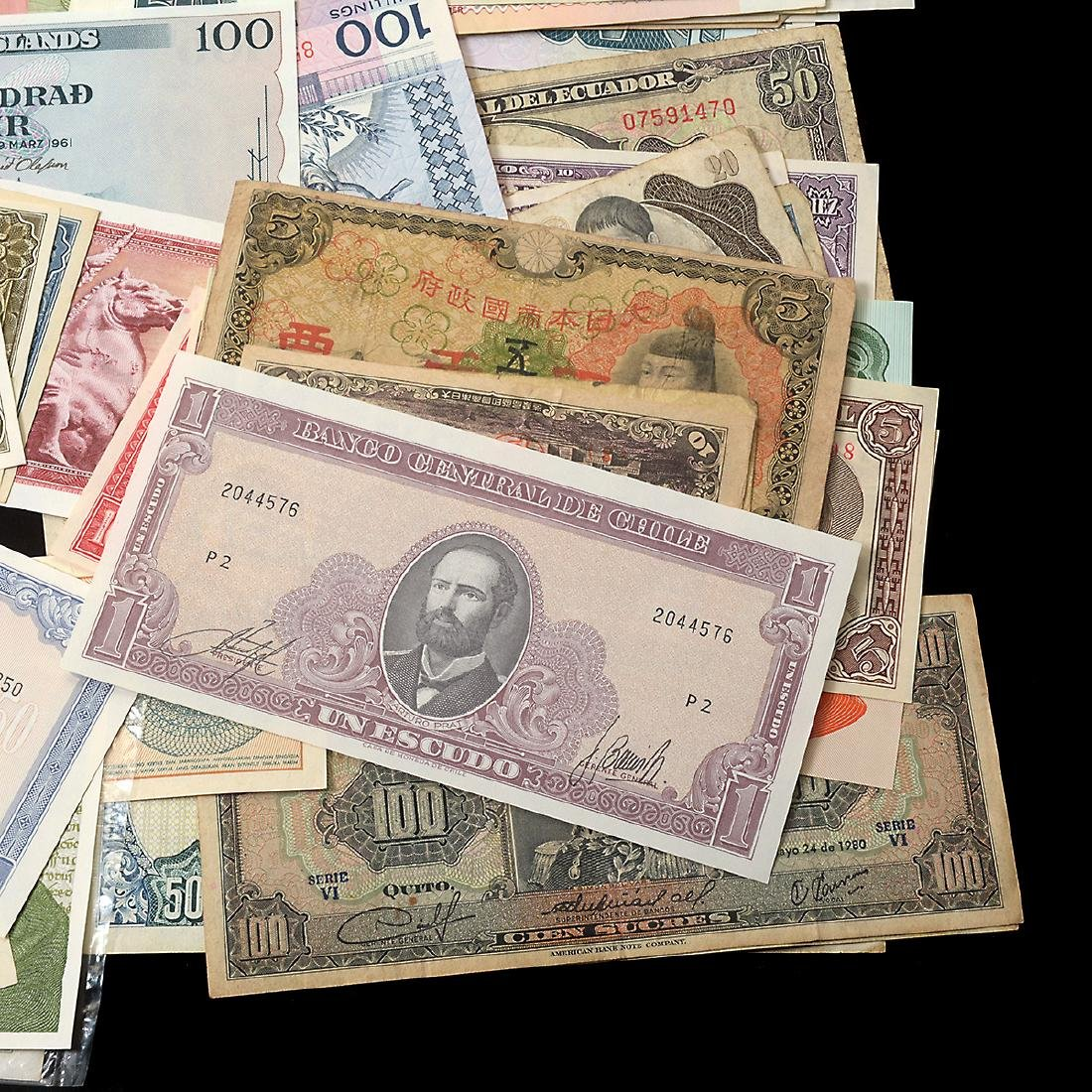 Worldwide Collection of Paper Money (approximately 200) - 8