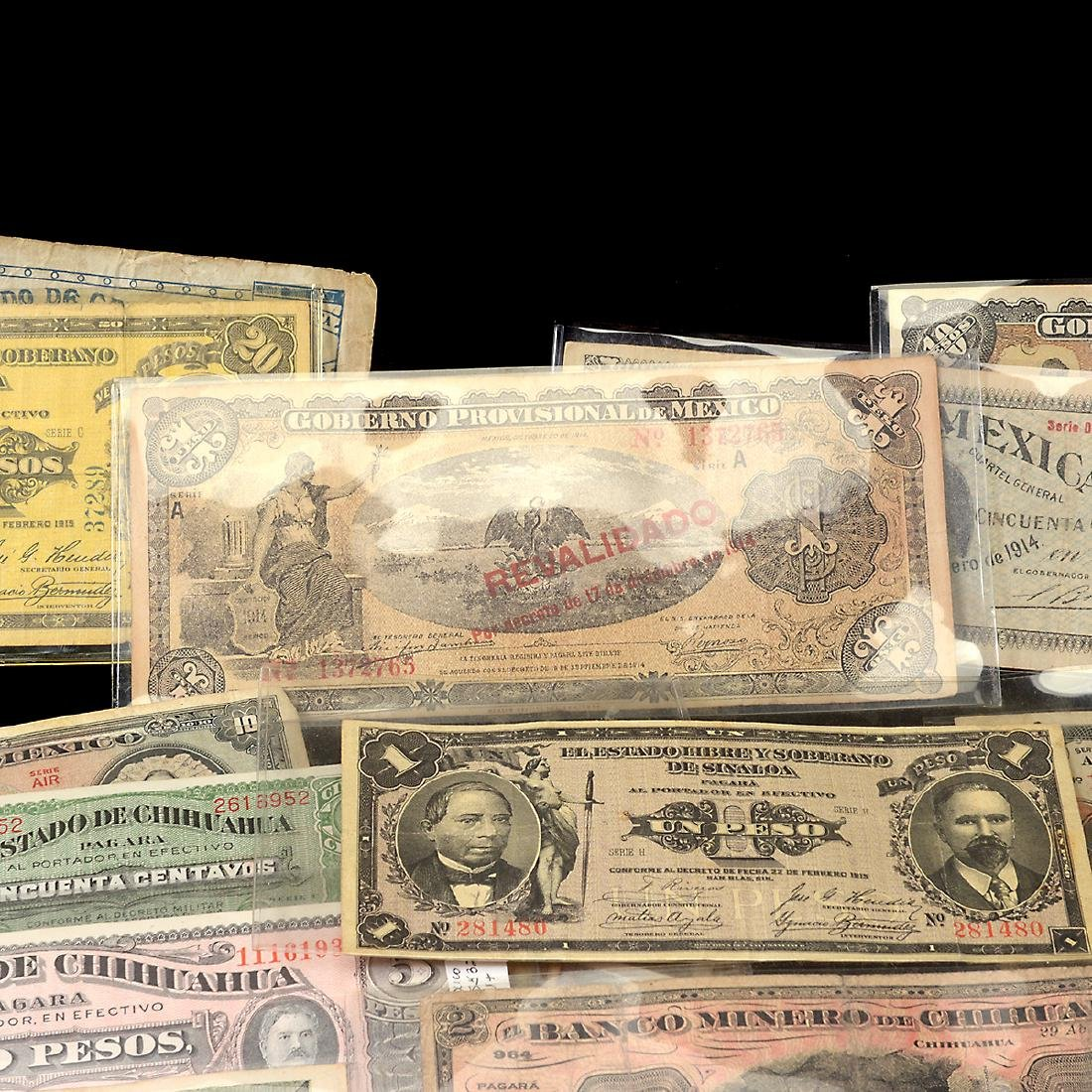Collection of Mexican Paper Money (approximately 75) - 3