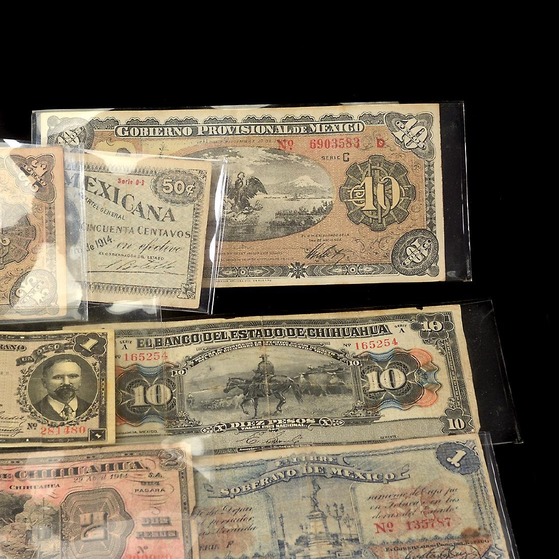 Collection of Mexican Paper Money (approximately 75) - 4