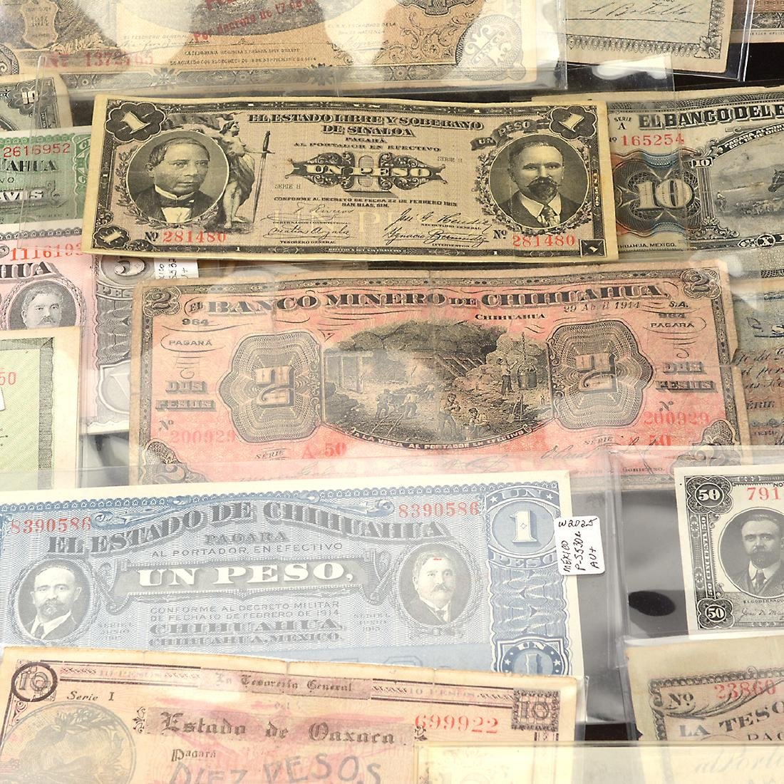 Collection of Mexican Paper Money (approximately 75) - 5