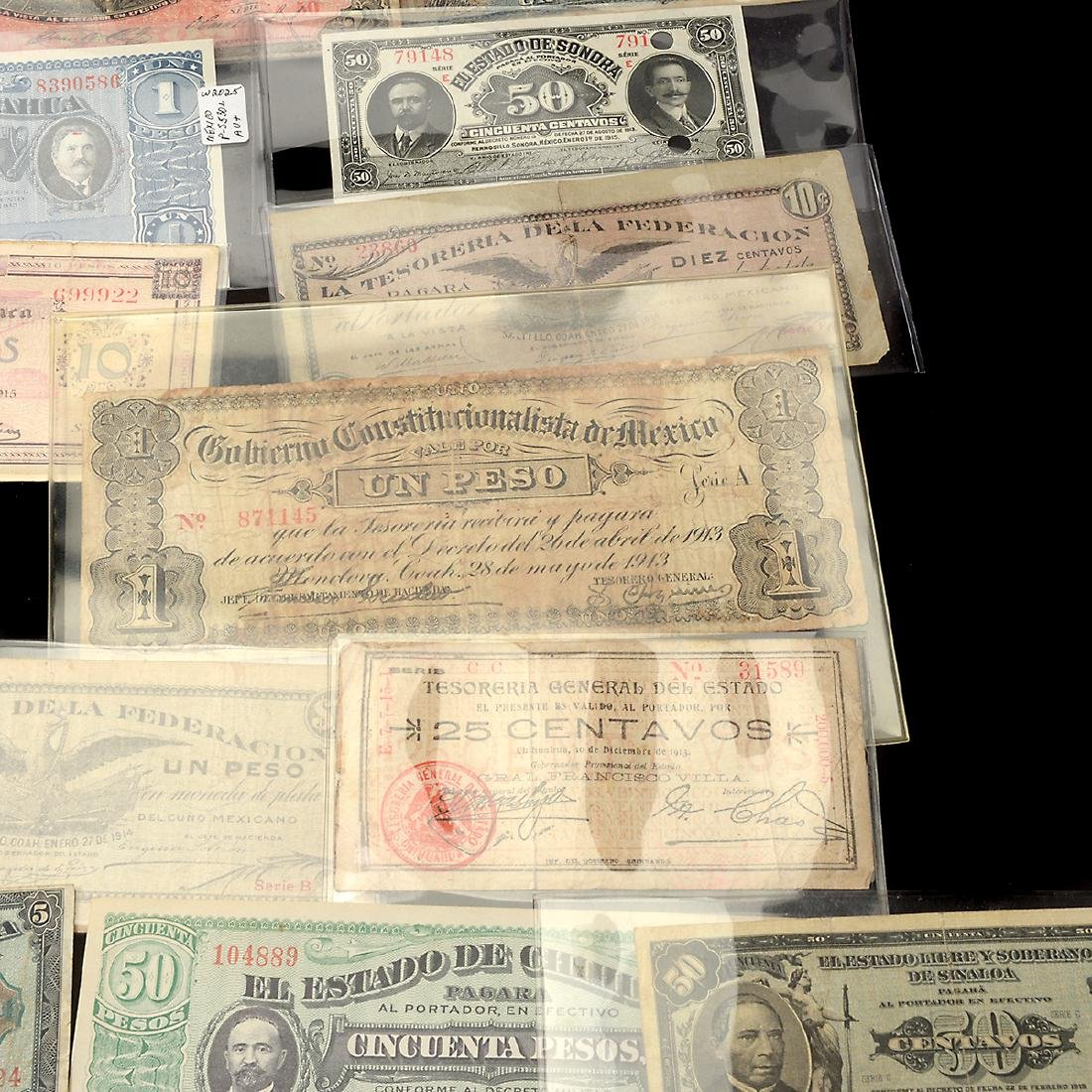 Collection of Mexican Paper Money (approximately 75) - 7
