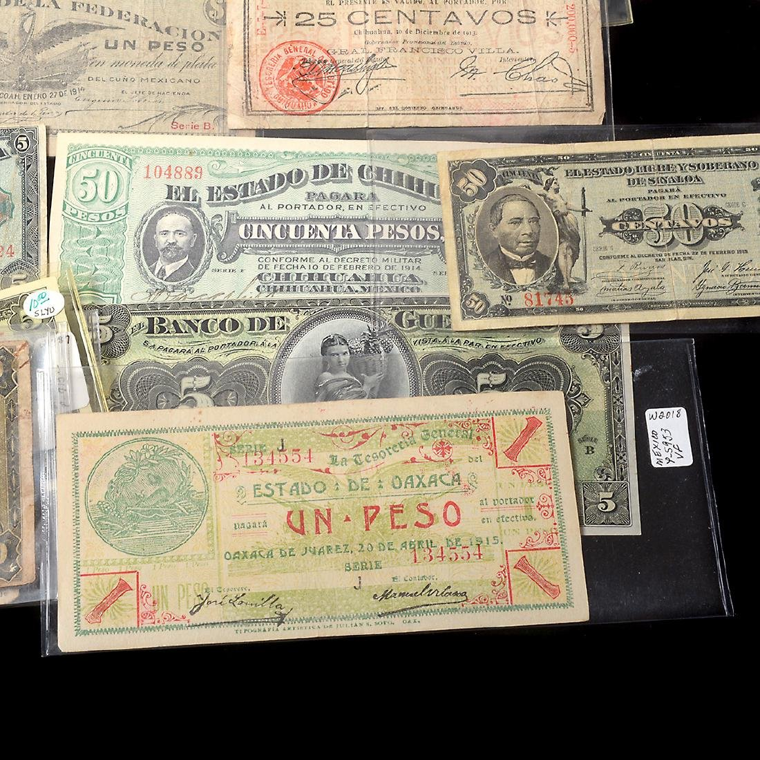 Collection of Mexican Paper Money (approximately 75) - 8