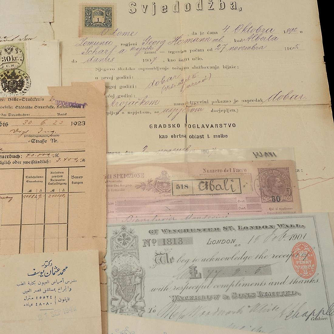 World Revenue Papers, Early 19th Century (50 Pieces) - 4
