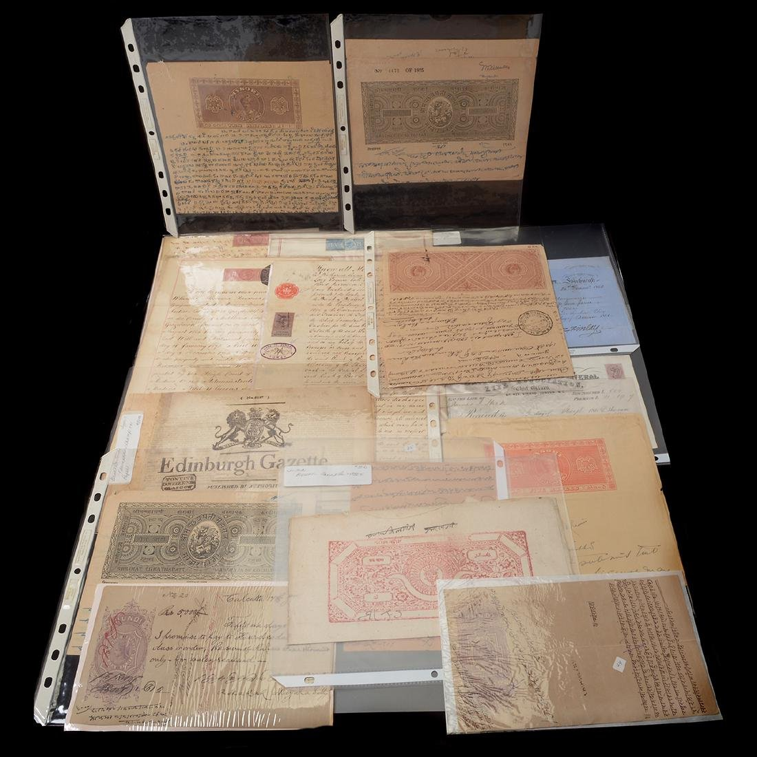 World Revenue Papers, 19th & Early 20th Century (50