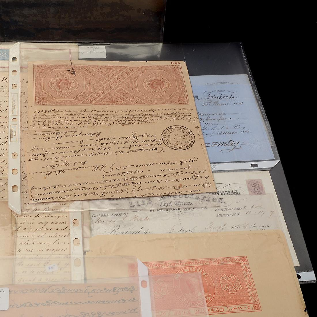 World Revenue Papers, 19th & Early 20th Century (50 - 5