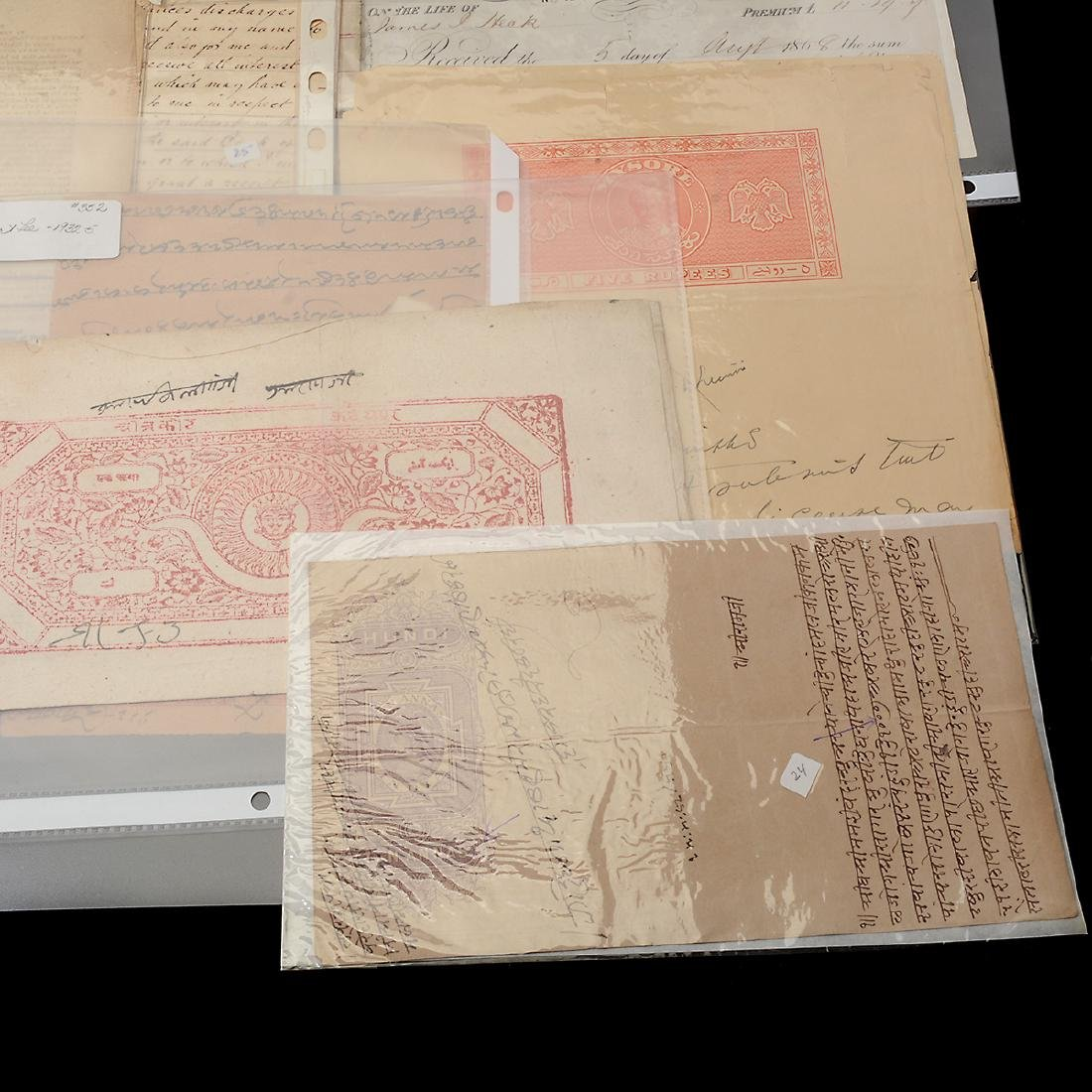 World Revenue Papers, 19th & Early 20th Century (50 - 6