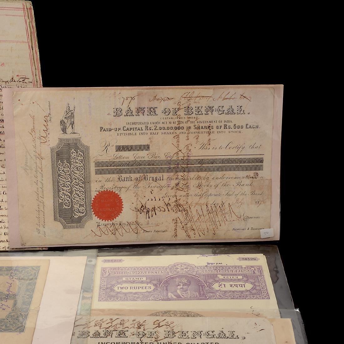 India Revenue Papers, 19th Century (26 Pieces) - 3