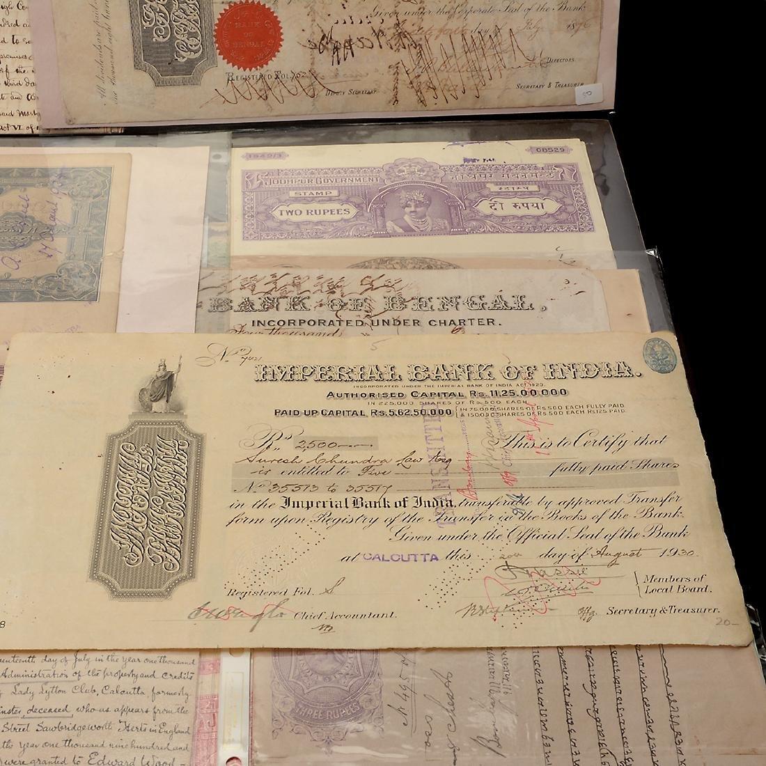 India Revenue Papers, 19th Century (26 Pieces) - 4