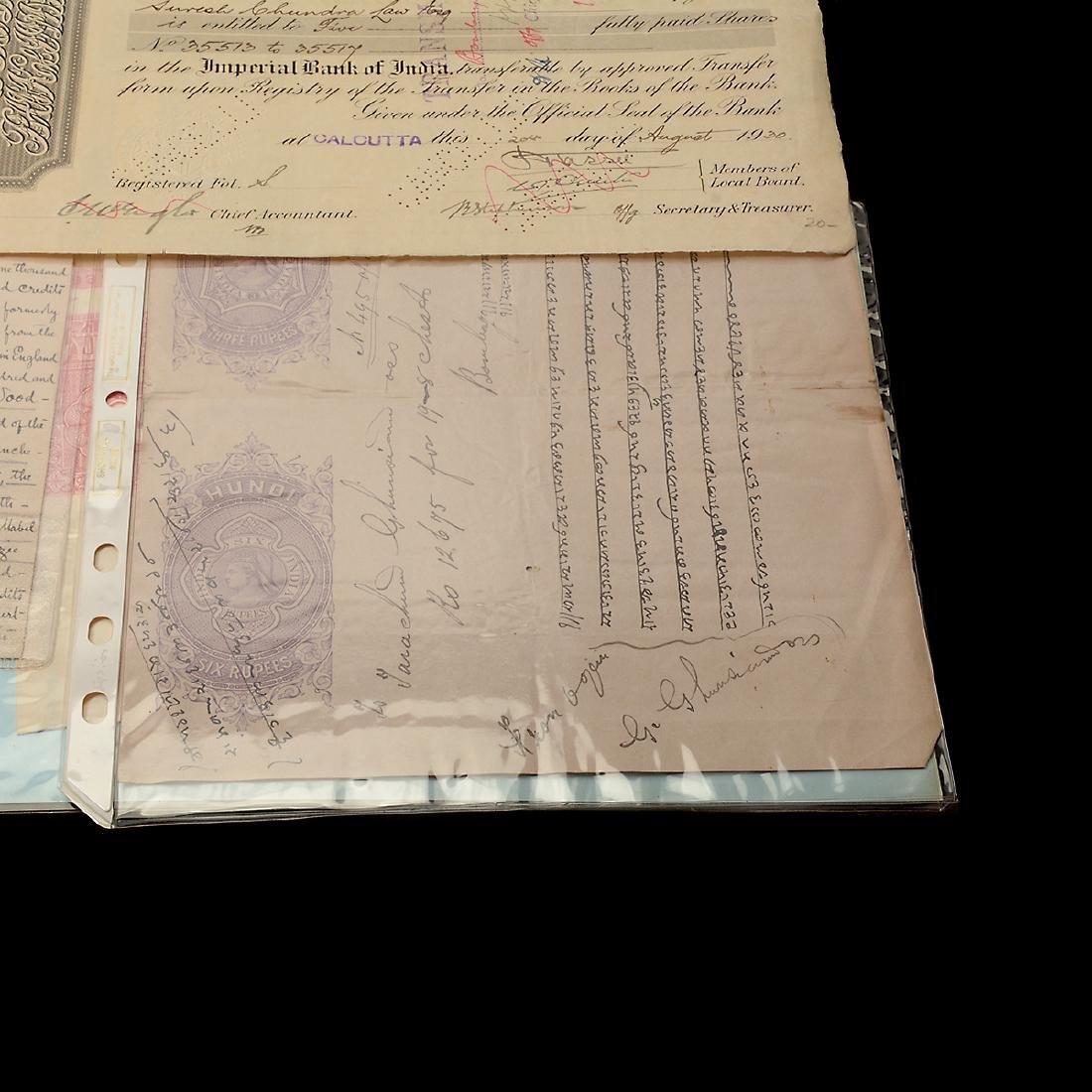 India Revenue Papers, 19th Century (26 Pieces) - 6