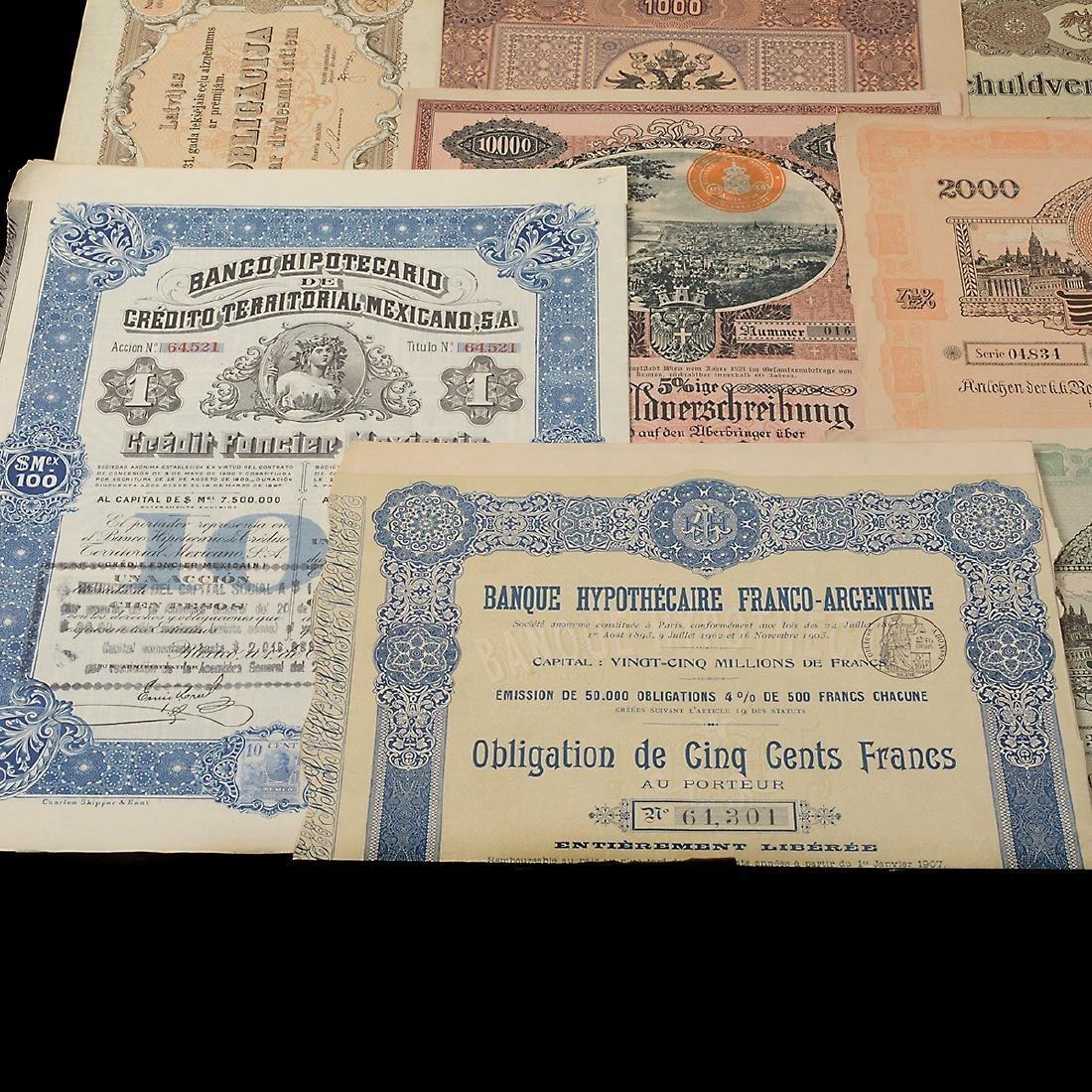 World Bonds, Early 20th Century (27 Pieces) - 6
