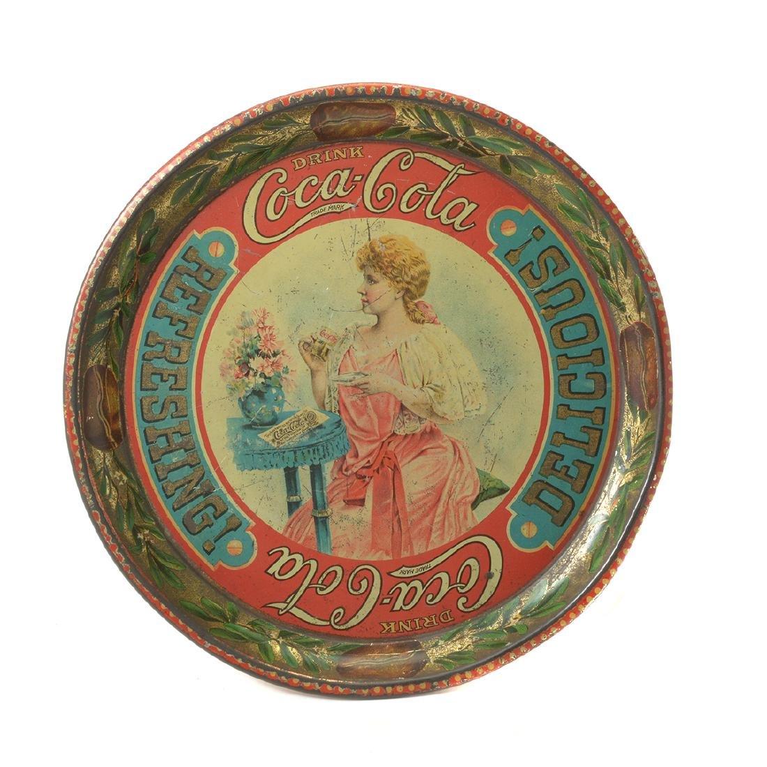 The Original 1897 Coca Cola Tray