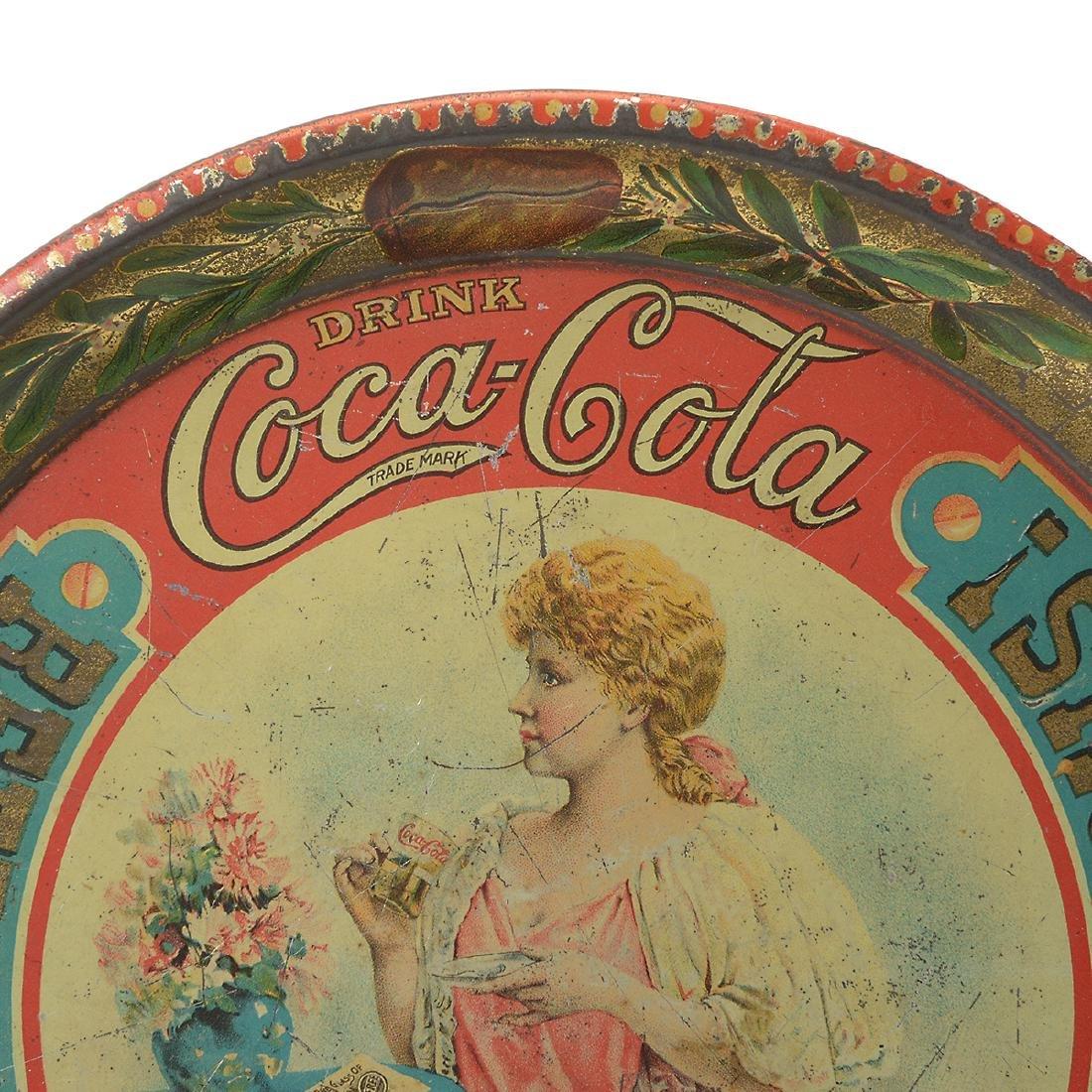 The Original 1897 Coca Cola Tray - 2
