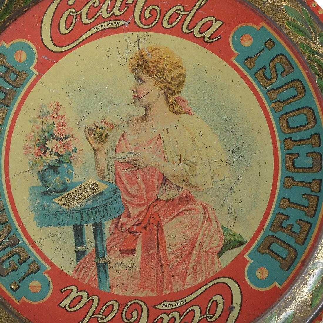 The Original 1897 Coca Cola Tray - 3