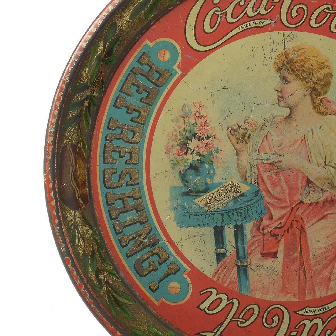 The Original 1897 Coca Cola Tray - 4