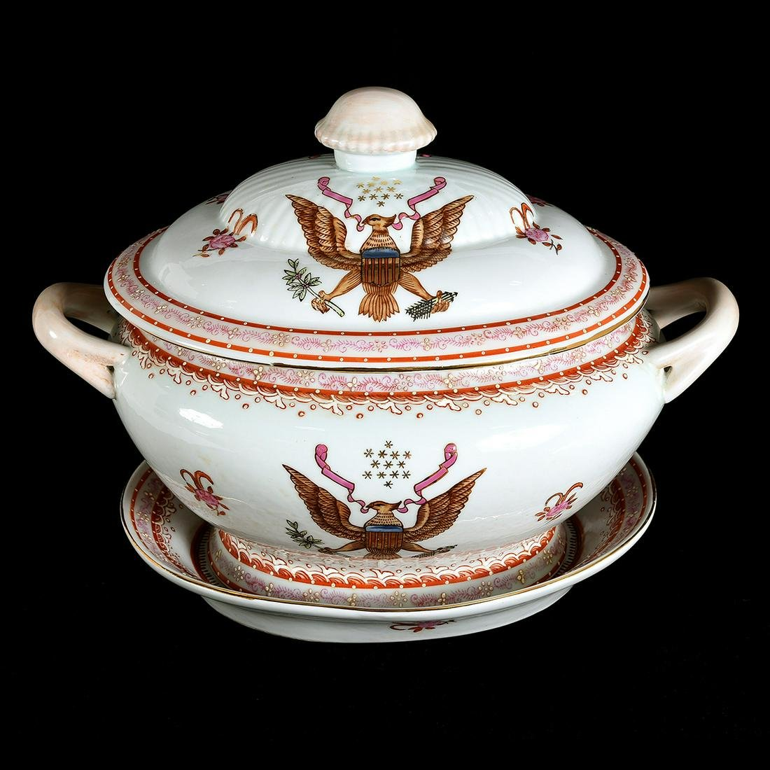 Chinese Export Porcelain Tureen Set