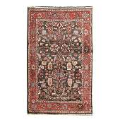 Chinese Turkistan Wool Rug.