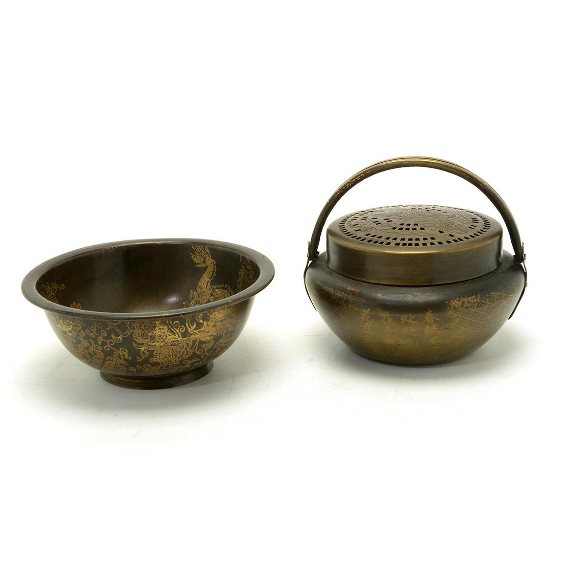 Hand Warmer and a Guang Xu Period Bowl