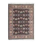 Persian Bidjar Wool Carpet.