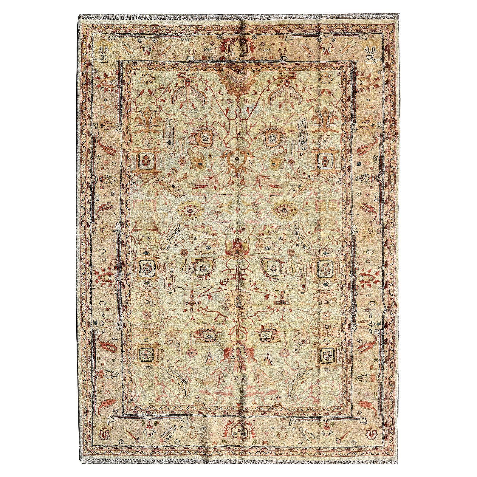 Persian Wool Carpet.