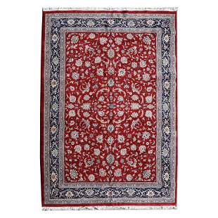 Persian 'Kashan' Carpet.