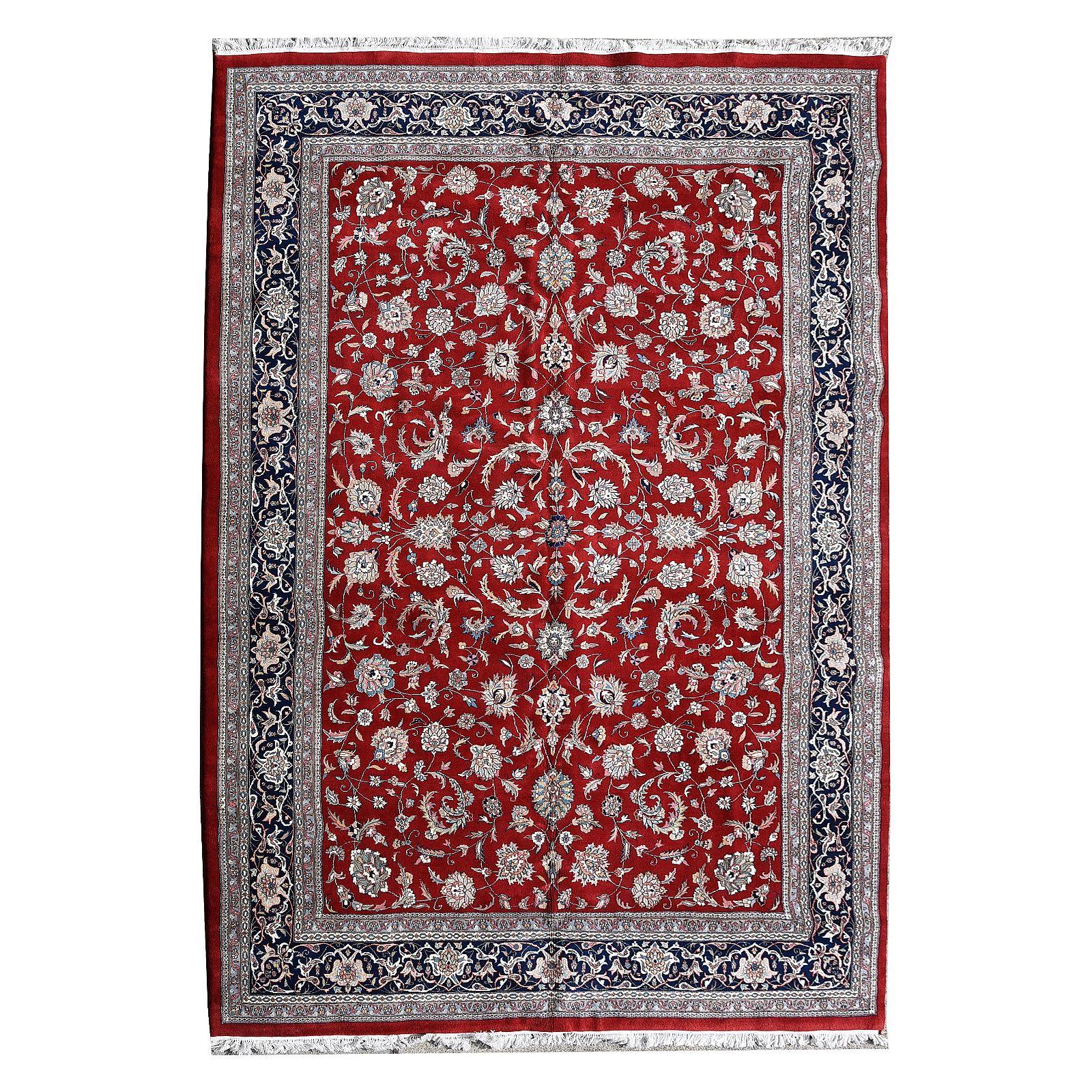 Persian 'Kashan' Carpet.