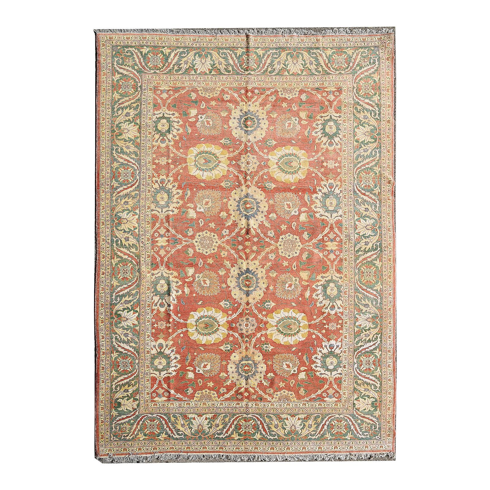 Persian Sultanabad Wool Carpet.