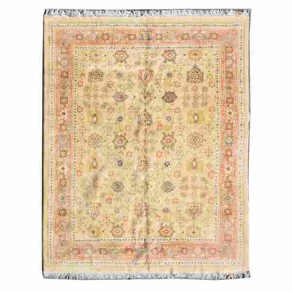 Indian Wool Rug.