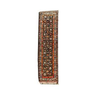 Persian Tribal Wool Runner.