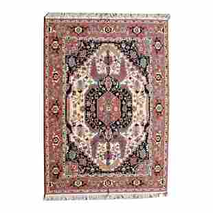 Romanian Serapi Style Wool Carpet.