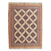 Romanian Hamadan Style Wool Carpet.