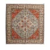 Romanian Bucaresti Style Wool Carpet.