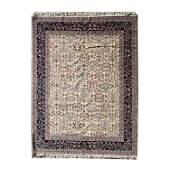 Romanian Tabriz Style Wool Carpet.