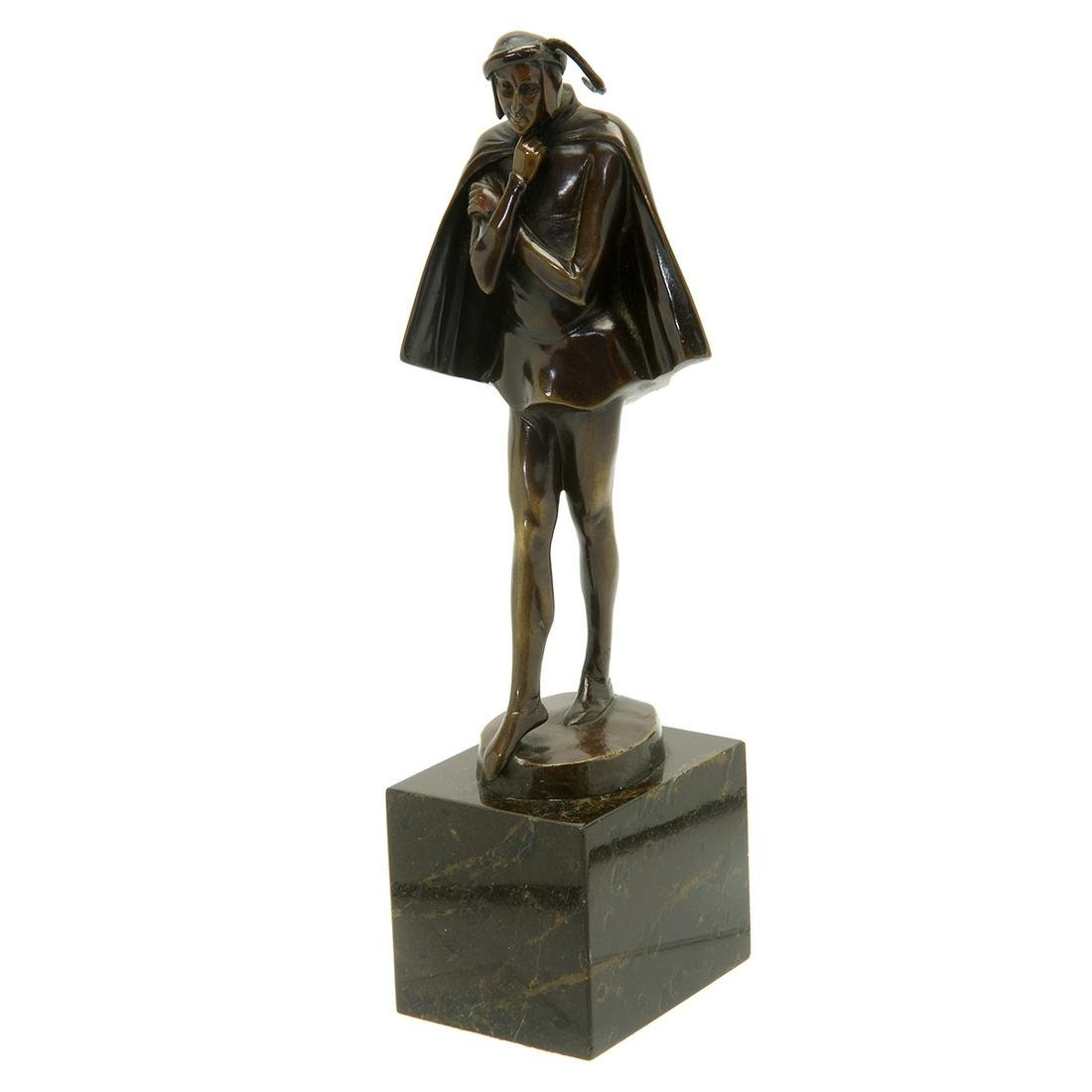 Art Deco Style Schmidt-Felling Bronze Figure of