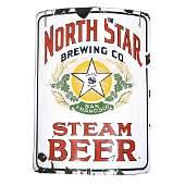 "Vintage North Star Brewing Sign (Steam Beer), 21.5""L x"