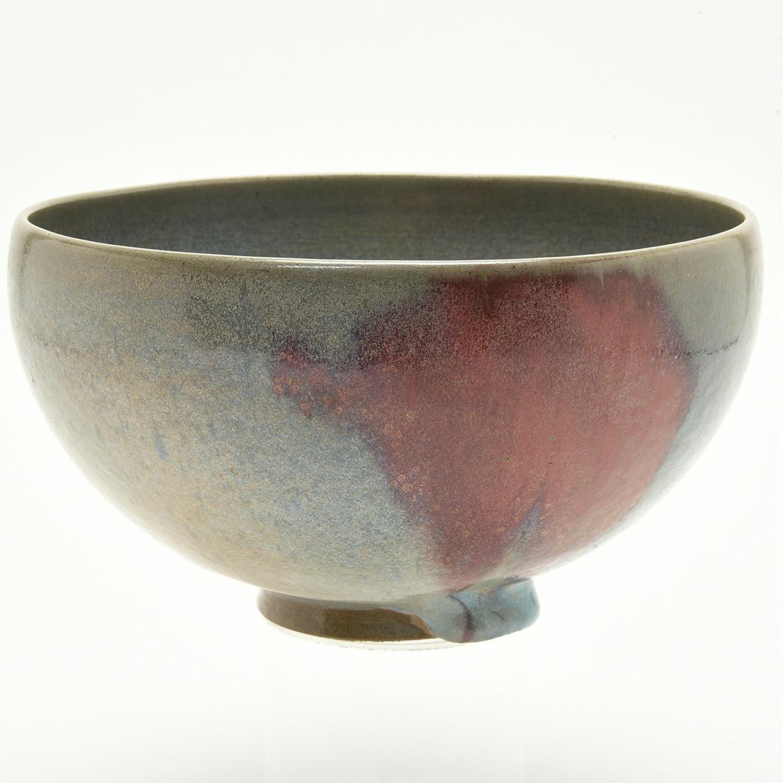 Large Chinese Junyao Purple-Splashed Bowl.