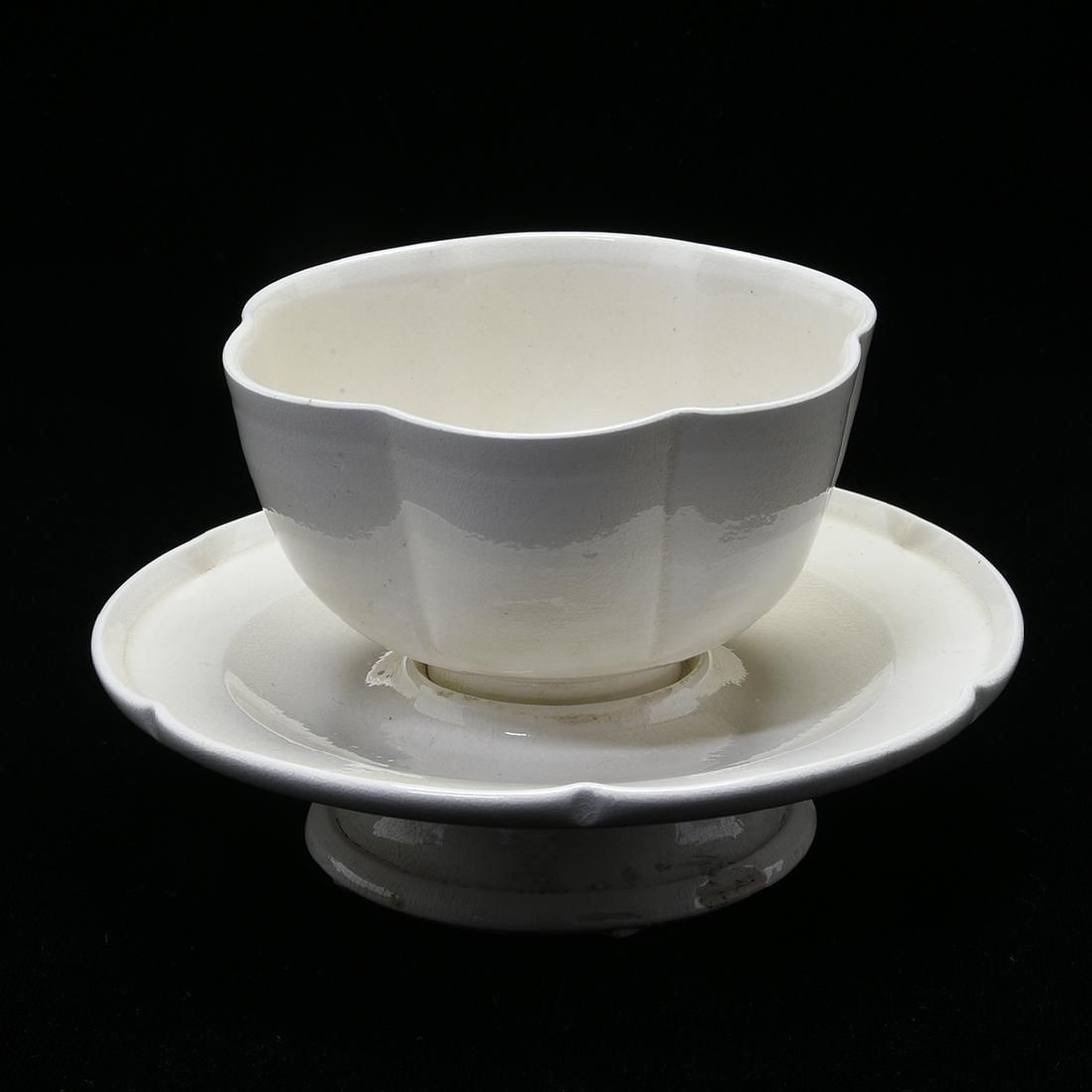 Chinese Ding-Type Lobed Cup/Cupstand