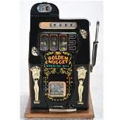 Mills Golden Nugget Gambling Hall Slot Machine.
