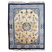 Art Deco Nichols Style Chinese Wool Carpet.