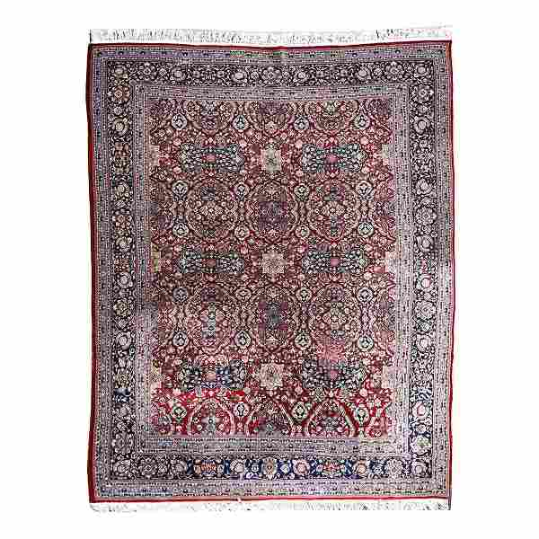 Persian Style Wool Carpet.
