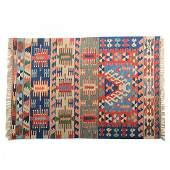 Turkish Konya Wool Kilim